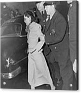 Lolita Lebron B. 1919, Under Arrest Acrylic Print by Everett