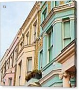 London Houses Acrylic Print by Tom Gowanlock