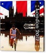London Olympics Acrylic Print by Sharon Lisa Clarke