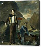 Lord Byron Acrylic Print by Granger