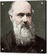 Lord Kelvin, Scottish Physicist Acrylic Print by Sheila Terry