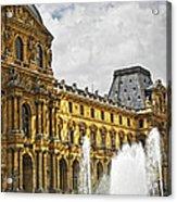 Louvre Acrylic Print by Elena Elisseeva