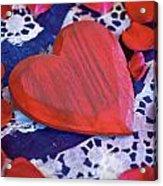 Love Acrylic Print by Joana Kruse
