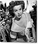Love That Brute, Jean Peters, 1950 Acrylic Print by Everett