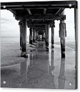 Low Tide Acrylic Print by Tim Nichols