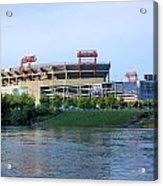 Lp Field Nashville Tennessee Acrylic Print by Kristin Elmquist