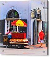 Lucky Dogs - Bourbon Street Acrylic Print by Bill Cannon