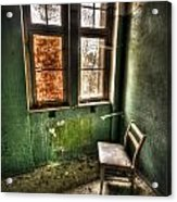 Lunatic Seat Acrylic Print by Nathan Wright