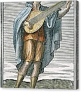 Lute, 1723 Acrylic Print by Granger