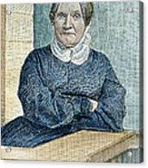 Lydia Maria Child (1802-1880) Acrylic Print by Granger