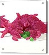 Macrophage Engulfing Pathogens, Artwork Acrylic Print by David Mack