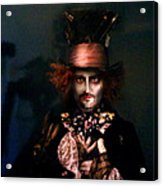 Mad Hatter Acrylic Print by Alessandro Della Pietra