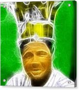 Magical Babe Ruth Acrylic Print by Paul Van Scott