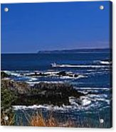 Maine At West Quoddy Acrylic Print by Skip Willits