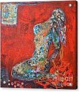 Male Acrylic Print by Al Nemer  Fatimah