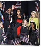 Malia Obama, U.s. President Elect Acrylic Print by Everett