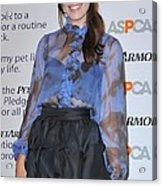 Mandy Moore In Attendance For Aspca Acrylic Print by Everett
