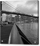 Manhattan Bridge Acrylic Print by Nina Mirhabibi