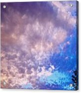 Marble Sky 2 Acrylic Print by Kevin Bone