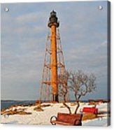 Marblehead Light Acrylic Print by Catherine Reusch  Daley