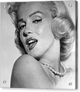 Marilyn Monroe, Ca. Mid 1950s Acrylic Print by Everett