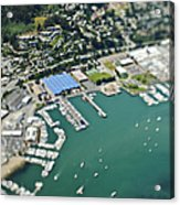 Marina And Coastal Community Acrylic Print by Eddy Joaquim