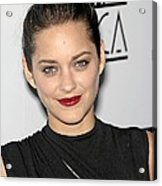 Marion Cotillard At Arrivals For Los Acrylic Print by Everett