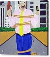Martyr Acrylic Print by Sal Marino
