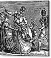 Martyrdom: Saint Julian Acrylic Print by Granger