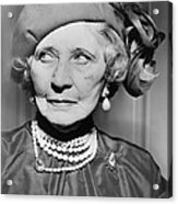 Mary Garden 1874-1967, At The Age Of 80 Acrylic Print by Everett