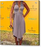 Mary J. Blige At A Public Appearance Acrylic Print by Everett