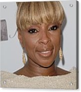Mary J Blige At Arrivals For 2011 Acrylic Print by Everett