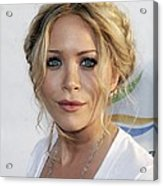 Mary-kate Olsen At Arrivals For Weeds Acrylic Print by Everett