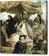 Mary Stuart's Farewell To France Acrylic Print by Henry Nelson O Neil