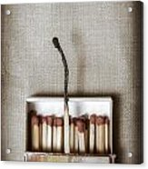 Matches Acrylic Print by Joana Kruse