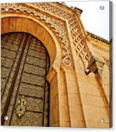 Mausoleum Of Mohammed V Acrylic Print by Kelly Cheng Travel Photography