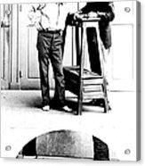 Measurement Of The Cubit, Bertillon Acrylic Print by Science Source