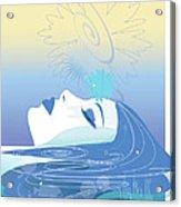 Meditation Acrylic Print by Lisa Henderling