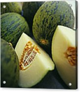 Melons Acrylic Print by David Munns