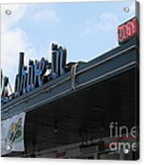 Mel's Drive-in Diner In San Francisco - 5d18042 Acrylic Print by Wingsdomain Art and Photography
