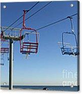 Memories Of The Jersey Shore Acrylic Print by John Van Decker