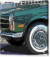 Mercedes Benz 280sl Roadster 2 Acrylic Print by Samuel Sheats