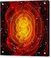 Merged Black Holes Acrylic Print by Chris Henzenasa