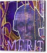 Merit Of Heart Acrylic Print by Michael Figueroa
