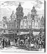 Mexico City, 1847 Acrylic Print by Granger