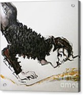 Michael Jackson - Ridiculous Spring Acrylic Print by Hitomi Osanai