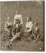 Middle Class African American Family Acrylic Print by Everett