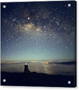 Milky Way Acrylic Print by Magrath Photography