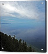 Mirror Clouds Acrylic Print by Ty Helbach
