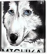 Mishka Fan Poster Acrylic Print by Warren Lindsey